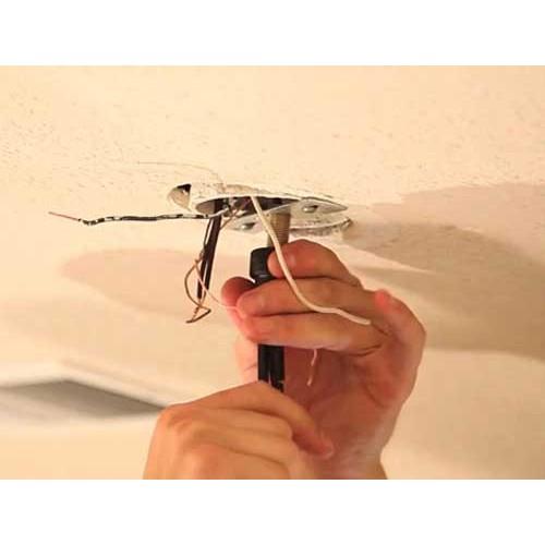 آموزش نصب لوستر سقفی